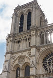 Notre Dame Tower Royalty Free Stock Photography