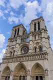Notre Dame towers Stock Photography