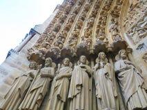 Notre Dame Typanum (2) Fotos de Stock