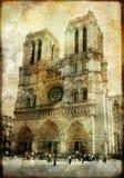 Notre Dame velho Imagens de Stock Royalty Free