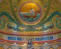 Notre Dame von Marseille in Süd-Frankreich Lizenzfreie Stockfotos