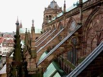Notre- Damede Straßburg, Straßburg, Frankreich stockbilder