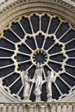 Notre- Damefenster Lizenzfreie Stockfotografie