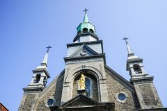 Notre- Damekapelle Stockfotografie