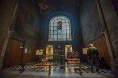 Notre- Damekathedrale Stockfotografie