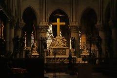 Notre- Damekathedrale Denkmäler von Paris Stockbild