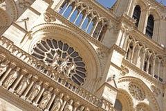 Notre- Damekathedrale Denkmäler von Paris Lizenzfreie Stockfotografie