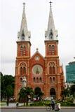 Notre- Damekathedrale, Ho Chi Minh Stadt Lizenzfreie Stockbilder