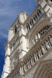 Notre- Damekathedrale, Paris Stockbild