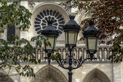 Notre- Damekathedrale in Paris Stockbild