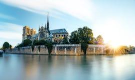 Notre- Damekathedrale in Paris, Frankreich Lizenzfreies Stockfoto