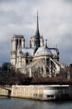 Notre- Damekathedrale. Paris, Frankreich Stockbilder