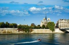 Notre Dames DE Parijs Royalty-vrije Stock Afbeelding