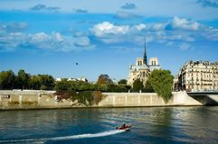 Notre Dames de Paris Royalty Free Stock Image