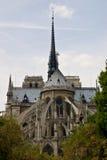Notre巴黎Damme  库存照片