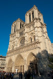 Notre Damme Cathedral Stock Photo