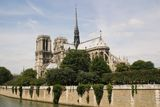 Notre Damme of Paris. Notre Damme Paris Cathedral France Stock Photo