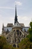 Notre Damme of Paris. Notre Damme Paris Cathedral France Stock Photos