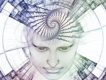 Notre esprit de Digital Image libre de droits
