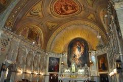 Notre-Freifrau-De-Bon--Secourskapelle, Montreal Stockbild