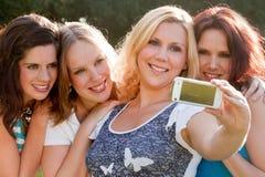 Notre girlgroup sur la photo Photographie stock