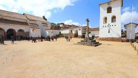 Notre Madame d'église Chinchero Pérou de Noël clips vidéos