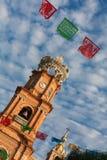 Notre Madame d'église de Guadalupe Image stock