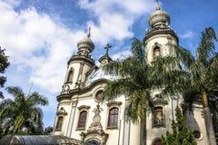 Notre Madame d'église du Brésil Photographie stock