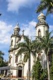 Notre Madame d'église du Brésil Photos stock