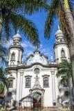 Notre Madame d'église du Brésil Photo stock