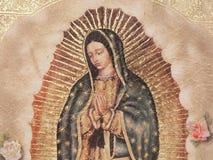 Notre Madame de Gualalupe image libre de droits
