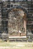 Notre Madame de la cathédrale de chapelet Images stock