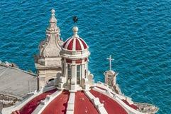 Notre Madame de Liasse à La Valette, Malte photographie stock
