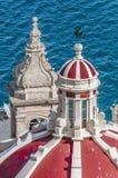 Notre Madame de Liasse à La Valette, Malte images stock