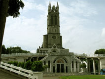 Notre Madame de Lourdes Grotto Church, San Jose del Monte, Bulacan Image libre de droits