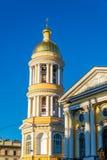 Notre Madame de Vladimir Church dans le St Petersbourg Photos libres de droits