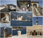 Notre Madame des roches, collage Photos libres de droits