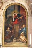 Notre Madame du mont Carmel image libre de droits