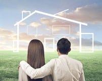 Notre maison Image libre de droits