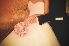 Notre mariage dans l'amour Images libres de droits