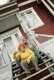 Notre nouvelle maison Image stock