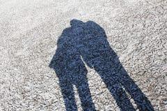 Notre ombre Photos libres de droits