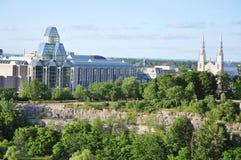 notre ottawa штольни dame собора национальное Стоковая Фотография