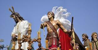 Notre père Jésus de silence au mépris de Herod. photos libres de droits