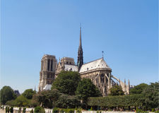 Notre paniusi katedra Obraz Royalty Free