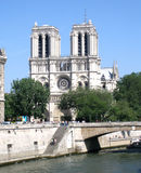 Notre paniusi katedra Zdjęcie Royalty Free
