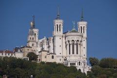 Notre Paniusia De Fourviere zdjęcie stock