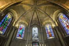 Notre Paniusia De Los angeles Współczucie kościół, Paryż, Francja fotografia royalty free