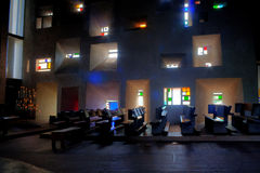 Notre paniusia Du Haut i Kaplica Zdjęcie Royalty Free