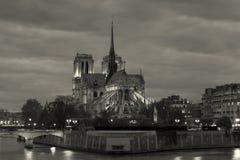 notre paris dame собора стоковые изображения rf